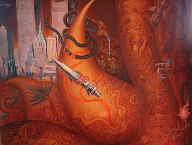 Picturi ciudate împodobesc pereții Templului Alb