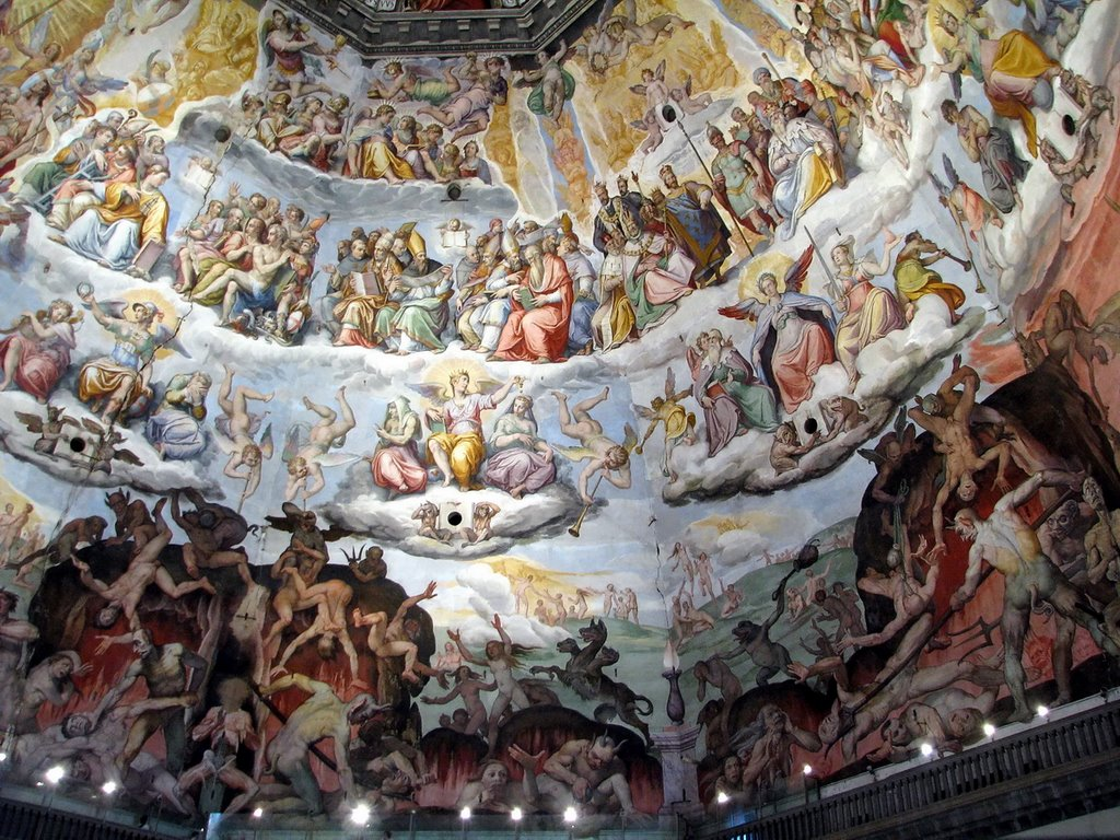 Picturile din interiorul Catedralei Santa Maria del Fiore sunt de o valoare incontestabilă