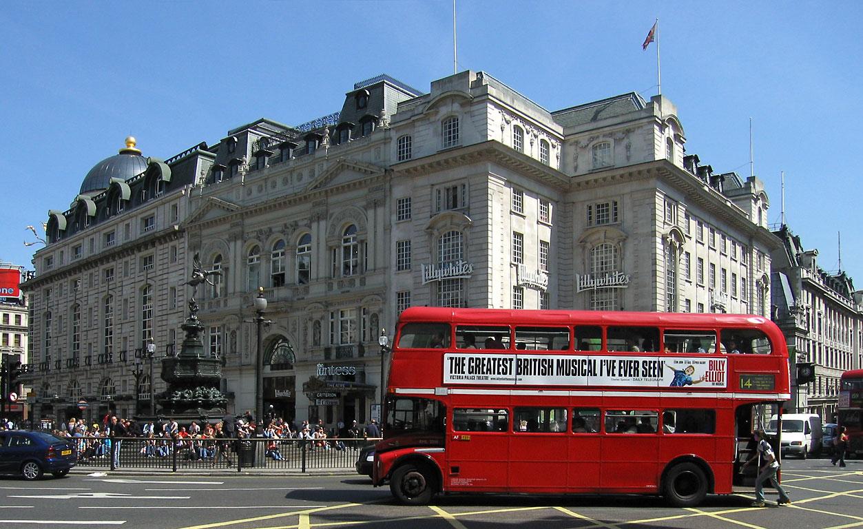 Londra, pentru cei nonconformişti