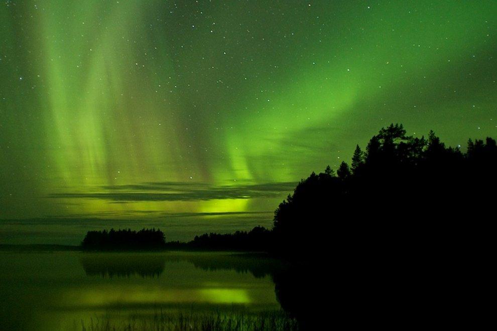 Rovaniemi este locul de unde poate fi admirată Aurora boreală