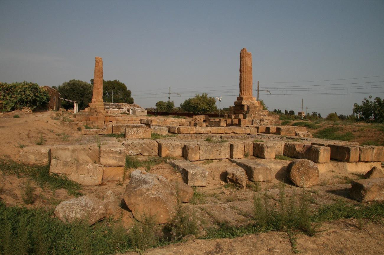Ruinele templului  ce a aparținut lui Asclepius