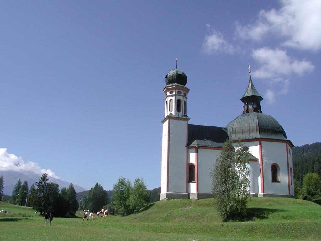 """""""Biserica Mică din lac"""", Seefeld"""