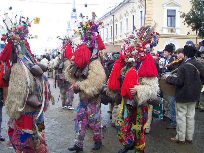 Sighetu Marmației, festivalul mascaților din Maramureș