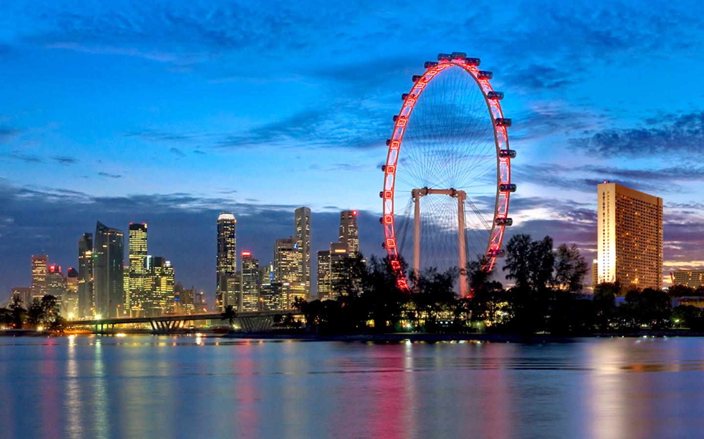 Singapore Flyer, clădirea controverasă a statului