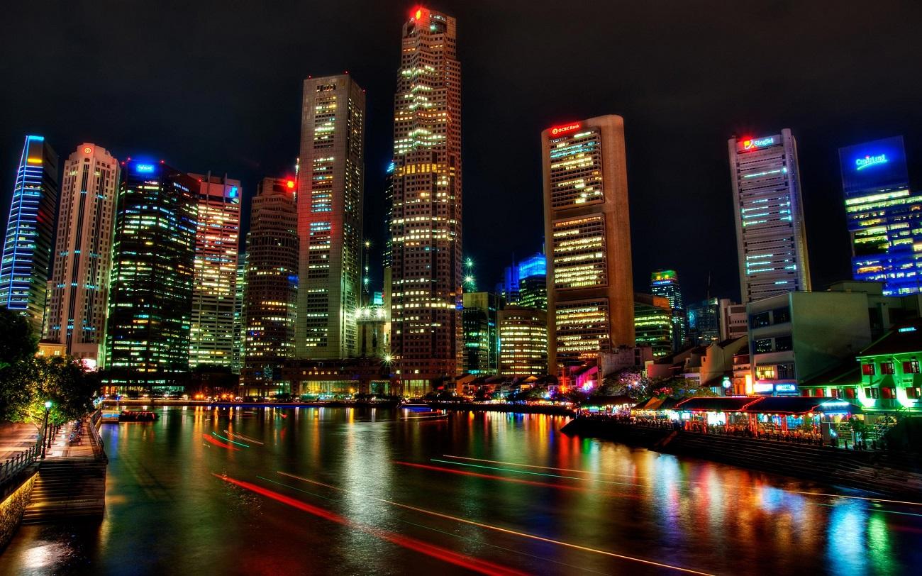 Singapore, noaptea