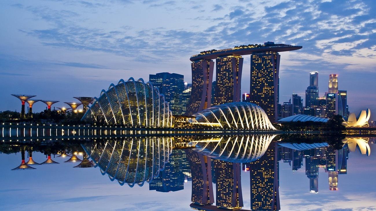 Singapore, orașul clădirilor moderne