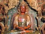 Statuile lui Buddha domnesc pe întreg ţinutul Mănăstirii Palcho
