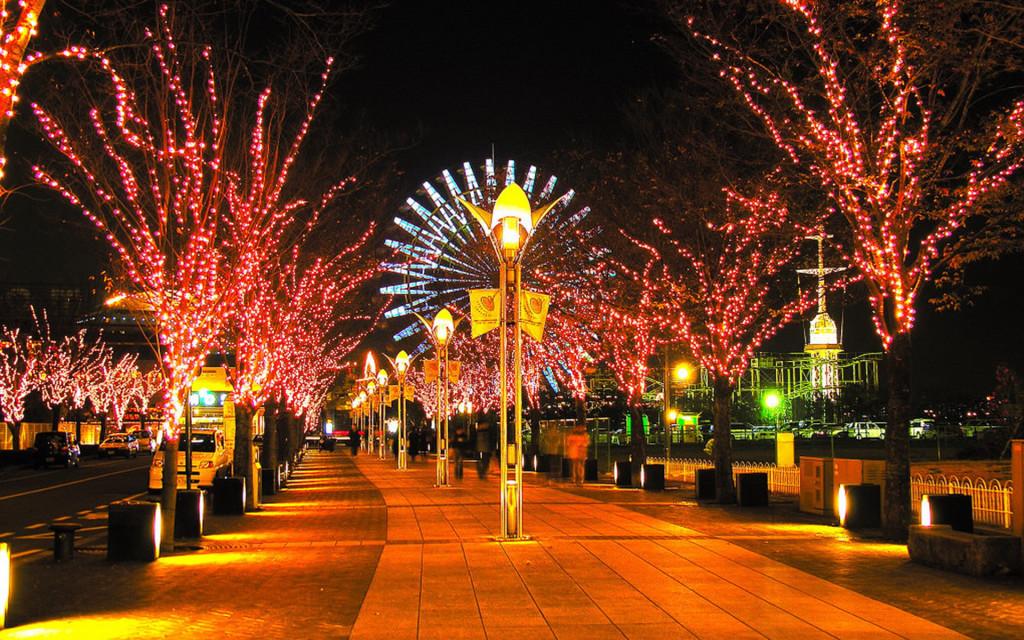 Străzile din Tokyo, de Crăciun