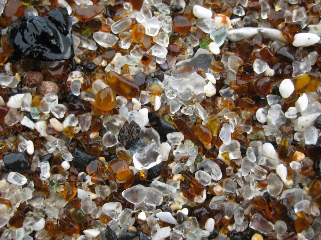 Tablou natural cu pietricele de sticlă