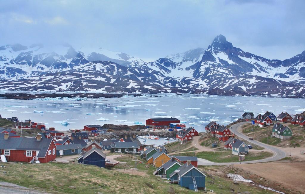 Tasiilaq, un strop din farmecul înghețat al Groenlandei