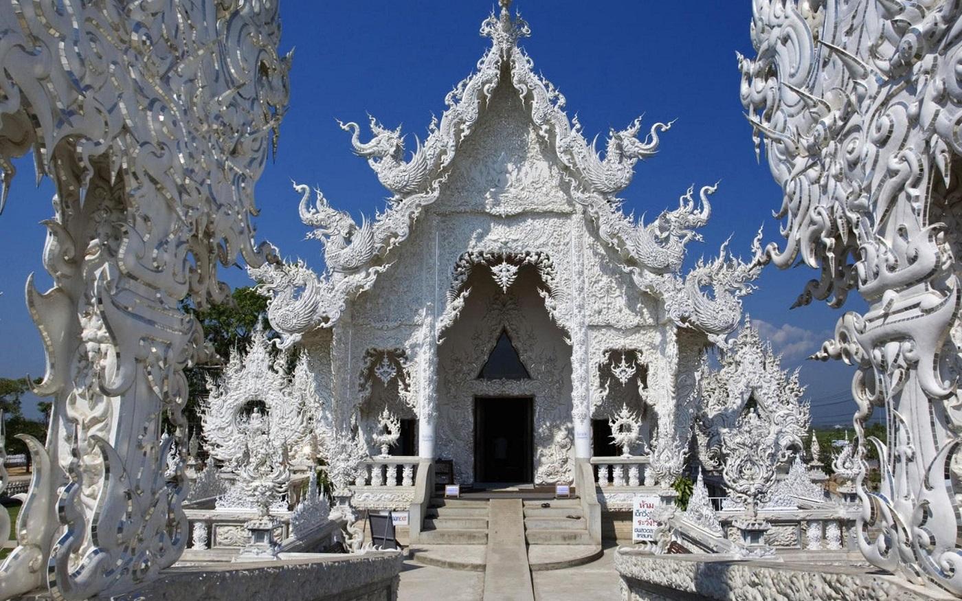 Templul Alb, o operă arhitecturală uimitoare în Thailanda