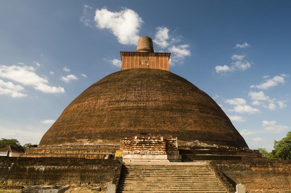 Templul Jetavanaramaya, o construcție unică