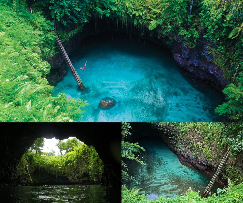 Sua Ocean Trench, Samoa