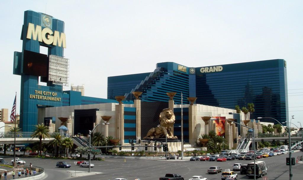Top 5 hoteluri de lux din Las Vegas - MGM Grand astăzi
