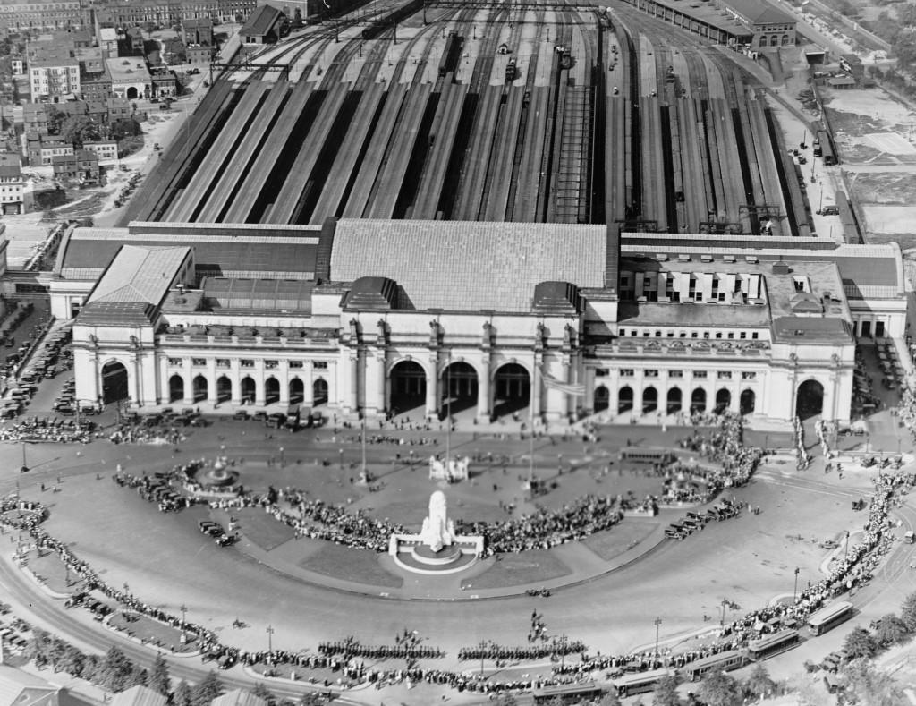 Union Station așa cum arăta la puțină vreme după inaugurare