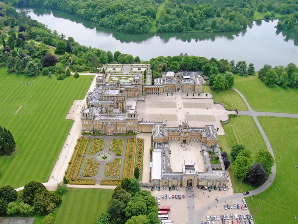 Panorama Blenheim Palace