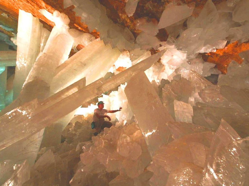 Peştera Cristalelor Uriaşe, Mexic