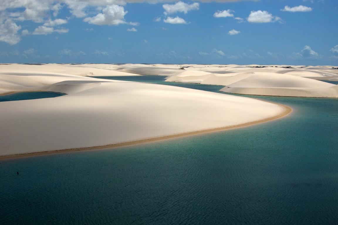 Parcul Naţional Lencois Maranhenses, Brazilia