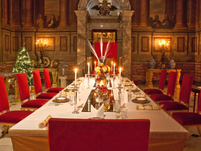 Crăciunul la Blenheim Palace