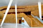 Foişorul din interiorul Operei din Oslo