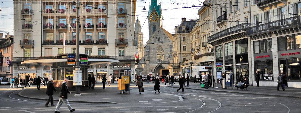 Zurich, un oraş de elită