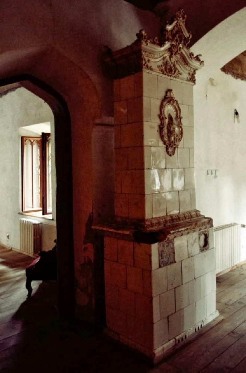 Interiorul Castelului Sturdza