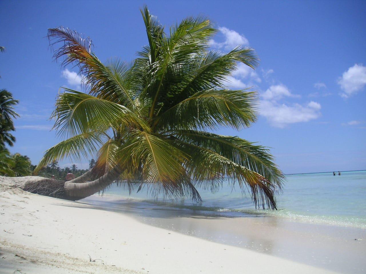Plajă fascinantă din Republica Dominicană