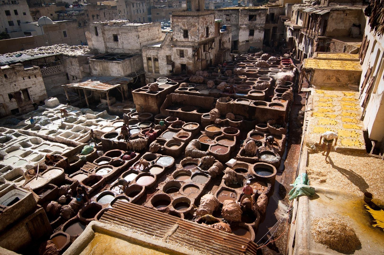 Medina din Fez aparţine patrimoniului UNESCO