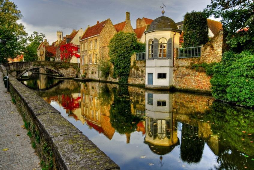 Orașul Bruges, Belgia