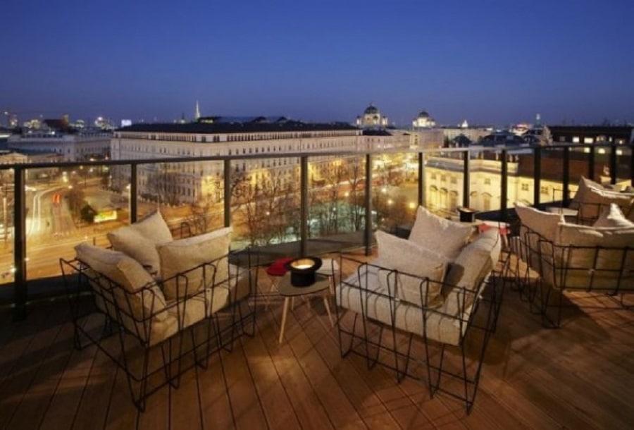 Vedere din 25 hours Hotel Wien