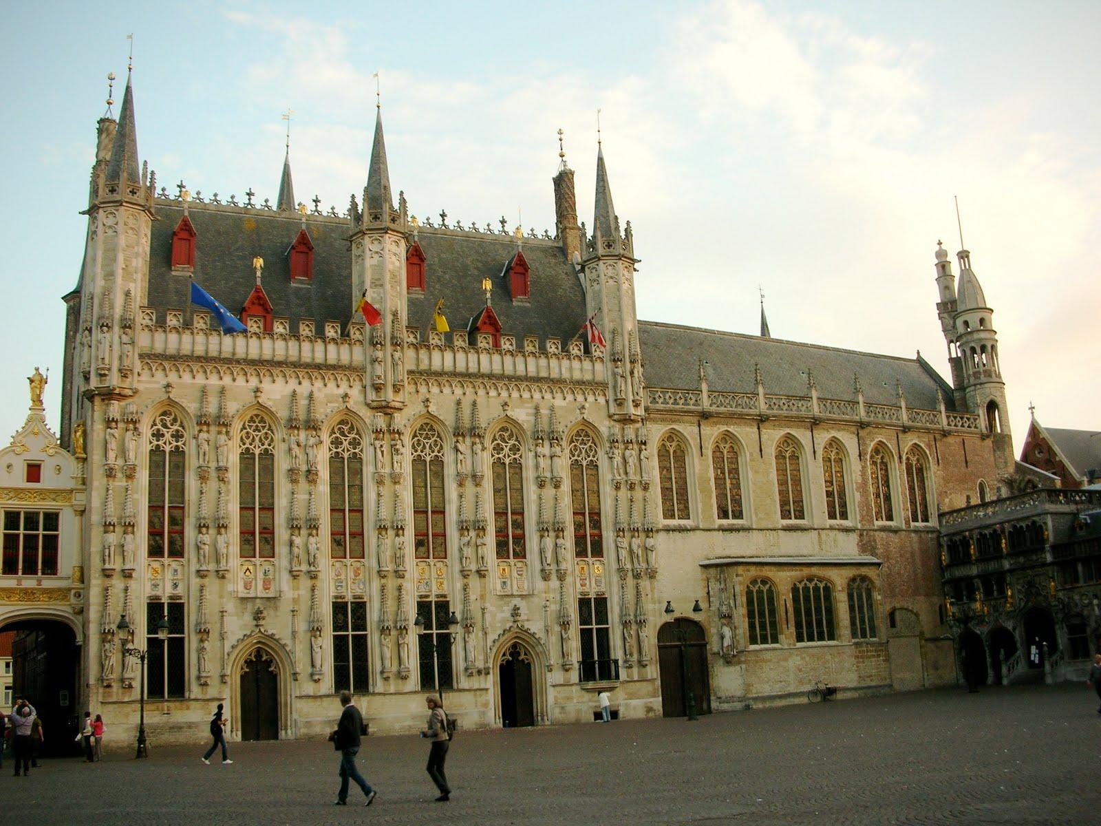 Primăria orașului Bruges