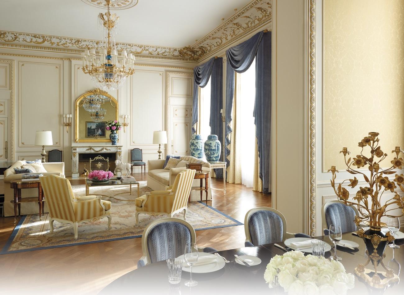 Hotelul Sangri-la abundă în lux, eleganță și rafinament
