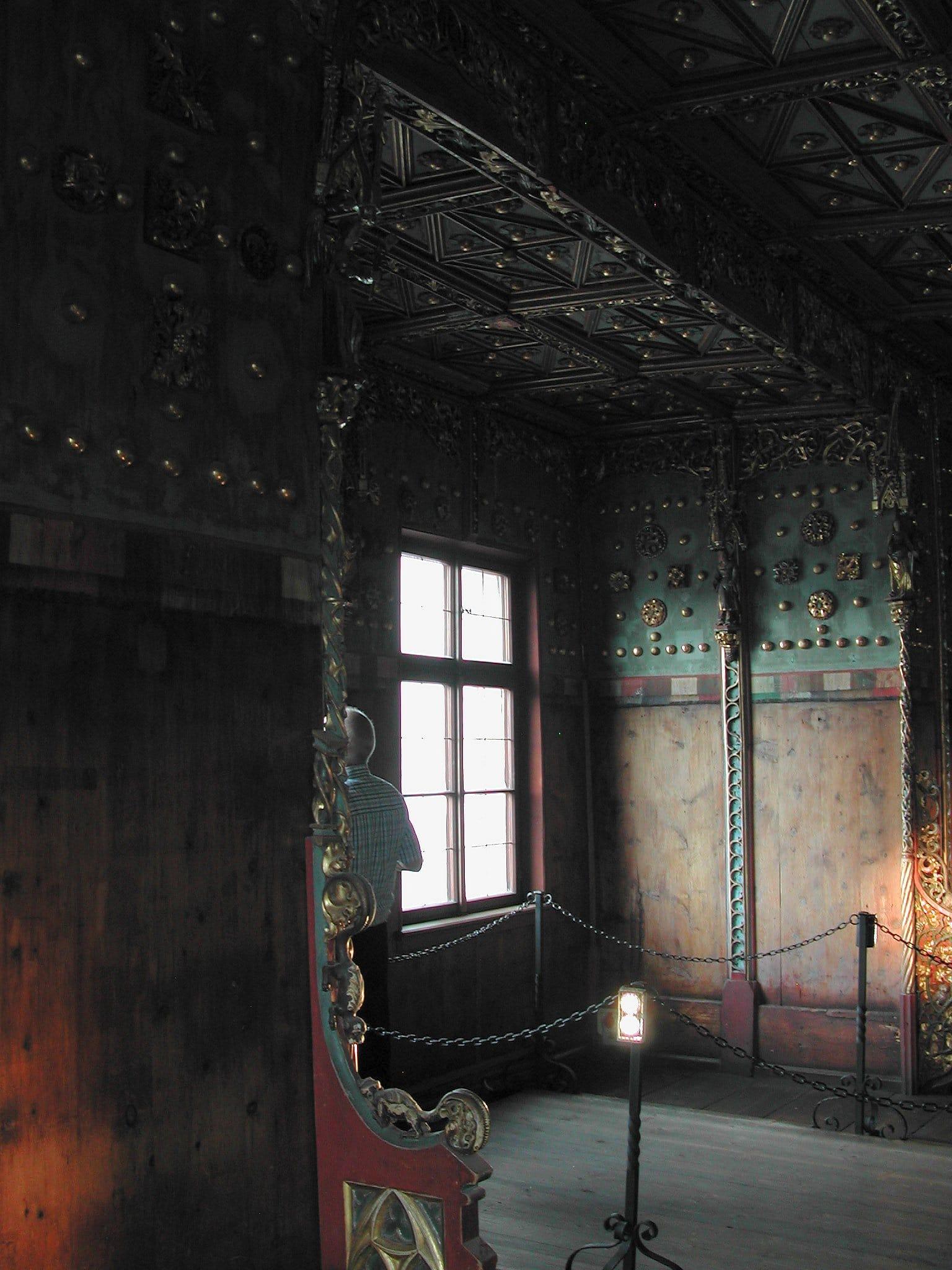 Încăpere din interiorul muzeului Hohensalzburg