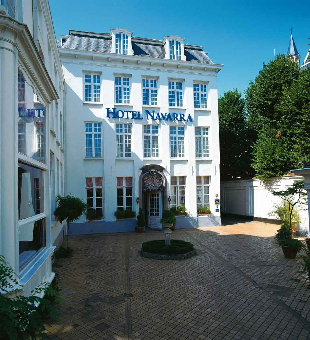 Spațiile de cazare păstrează stilul caracteristic orașului Bruges