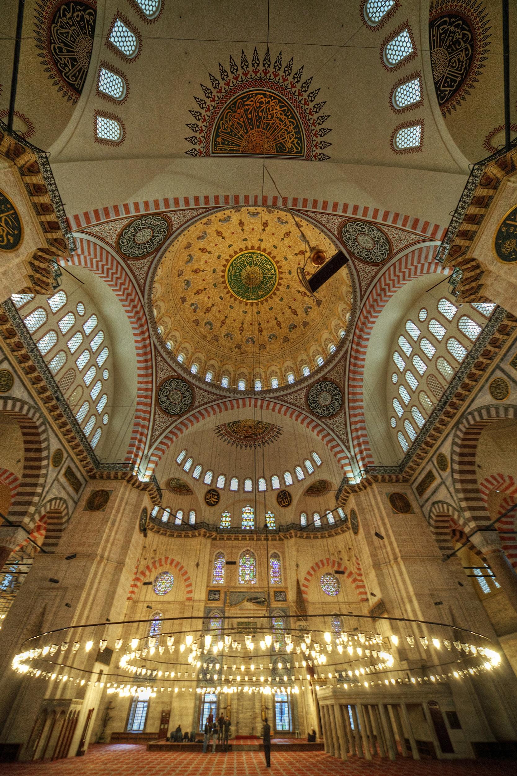 Fastuoasa Moschee a lui Suleiman