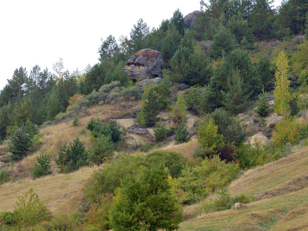 Sfinxul de pe masivul Breazau