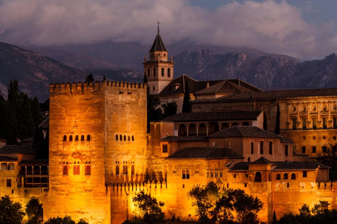 Alhambra, Spania