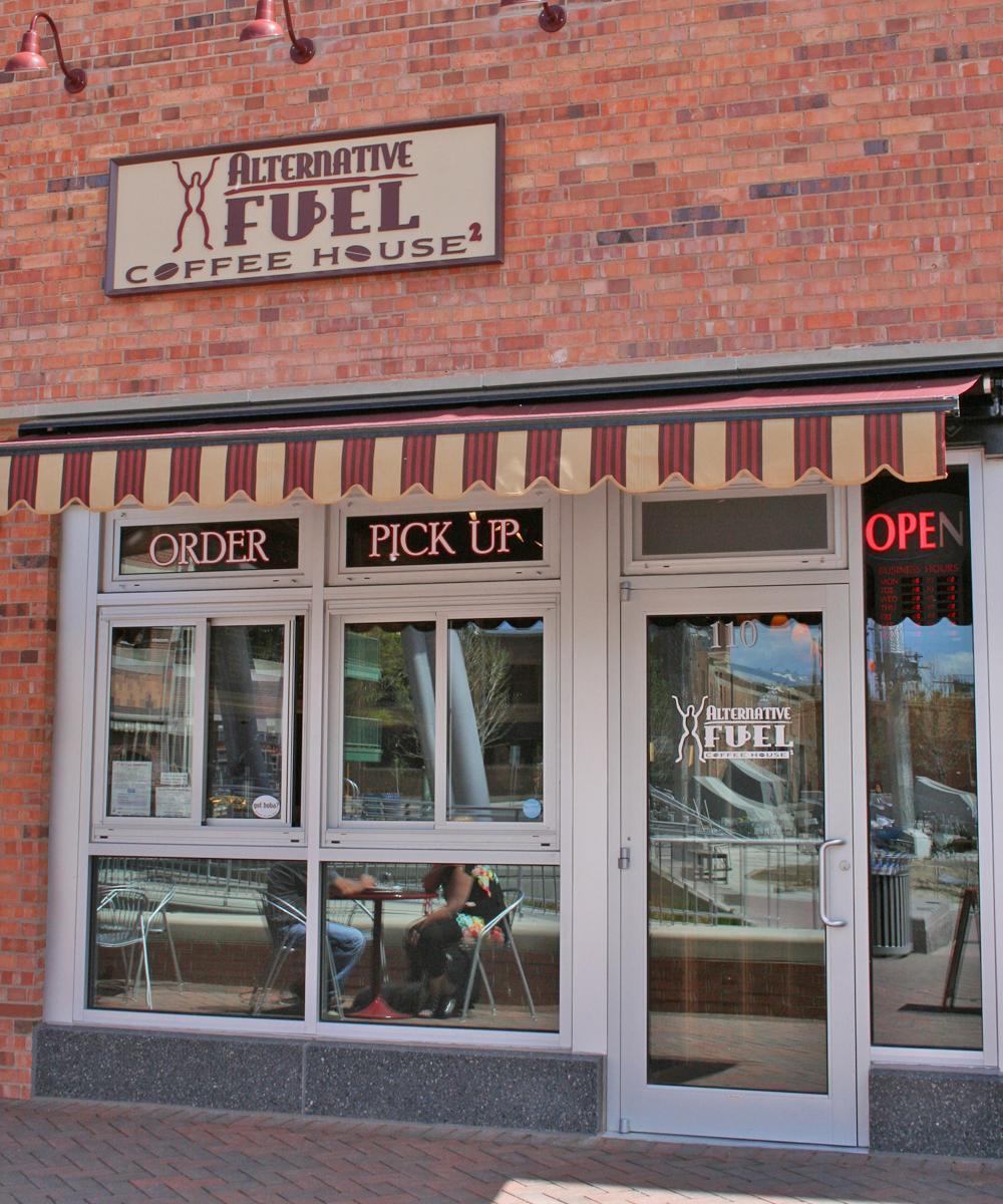 Alternative Fuel, cafeneaua ideală în Rapid City