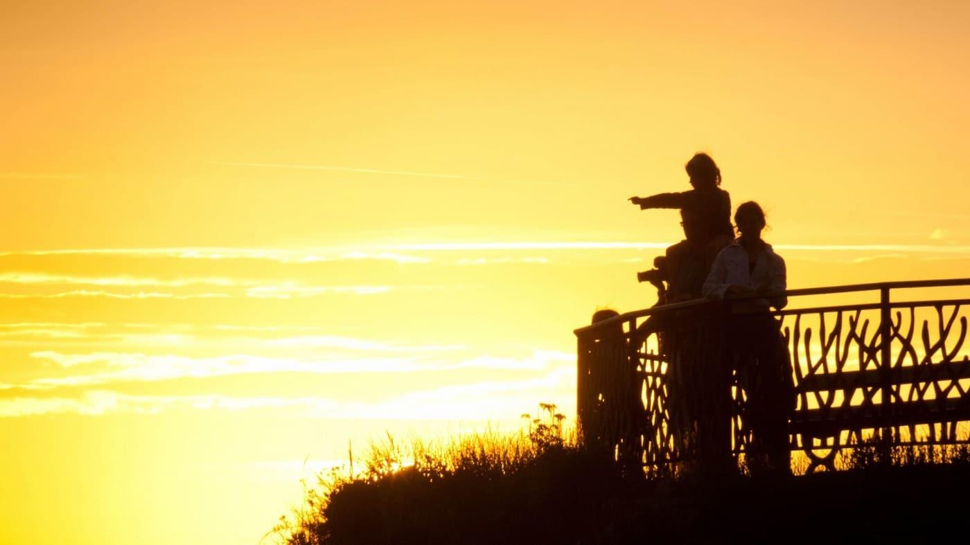 Apus de soare în Biarritz