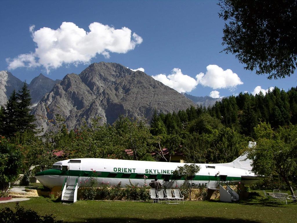 Avionul recondiţionat a fost transformat într-un restaurant inedit