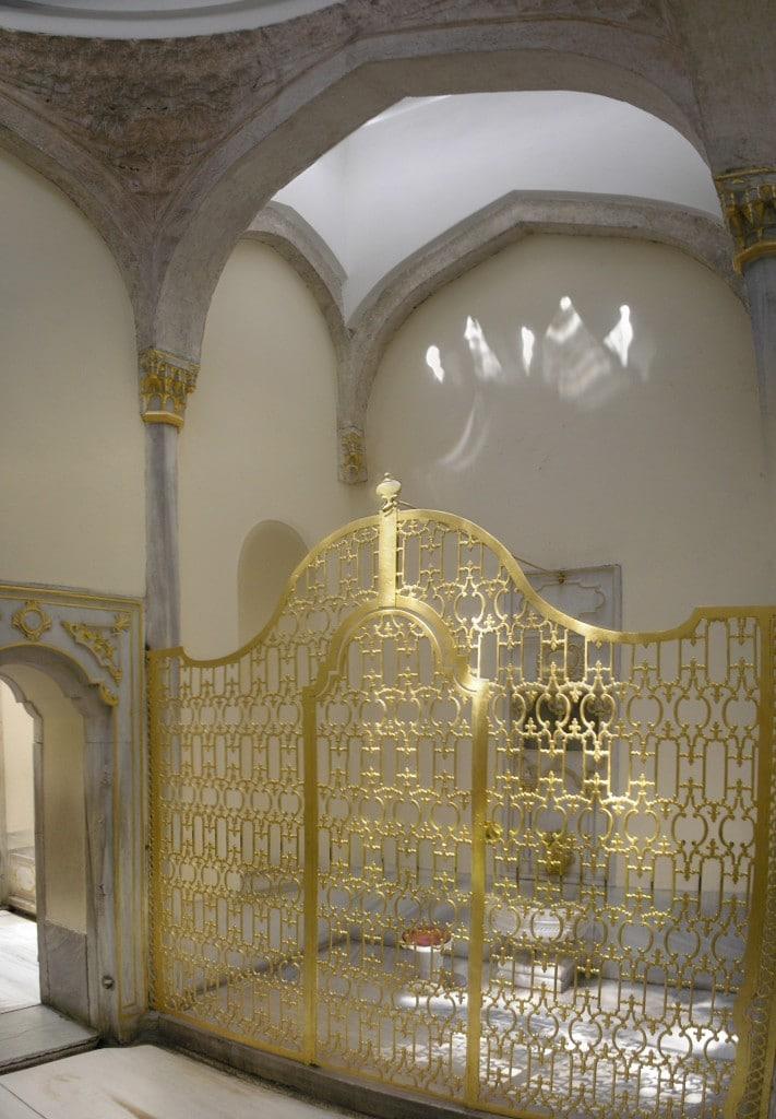 Băile Sultanului în Haremul din Topkapi