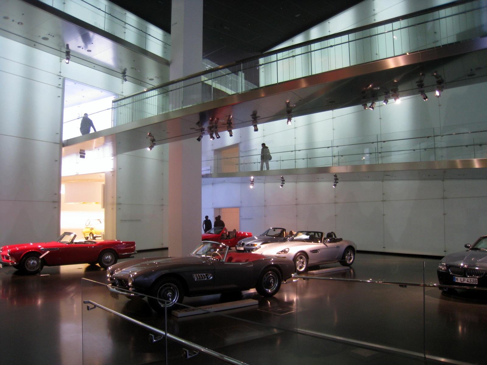 Exponate de colecție din Muzeul BMW