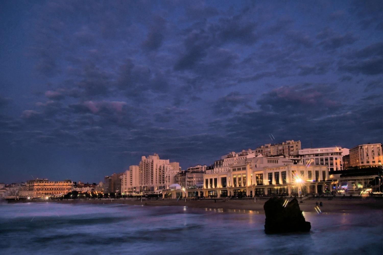 Biarritz, seara