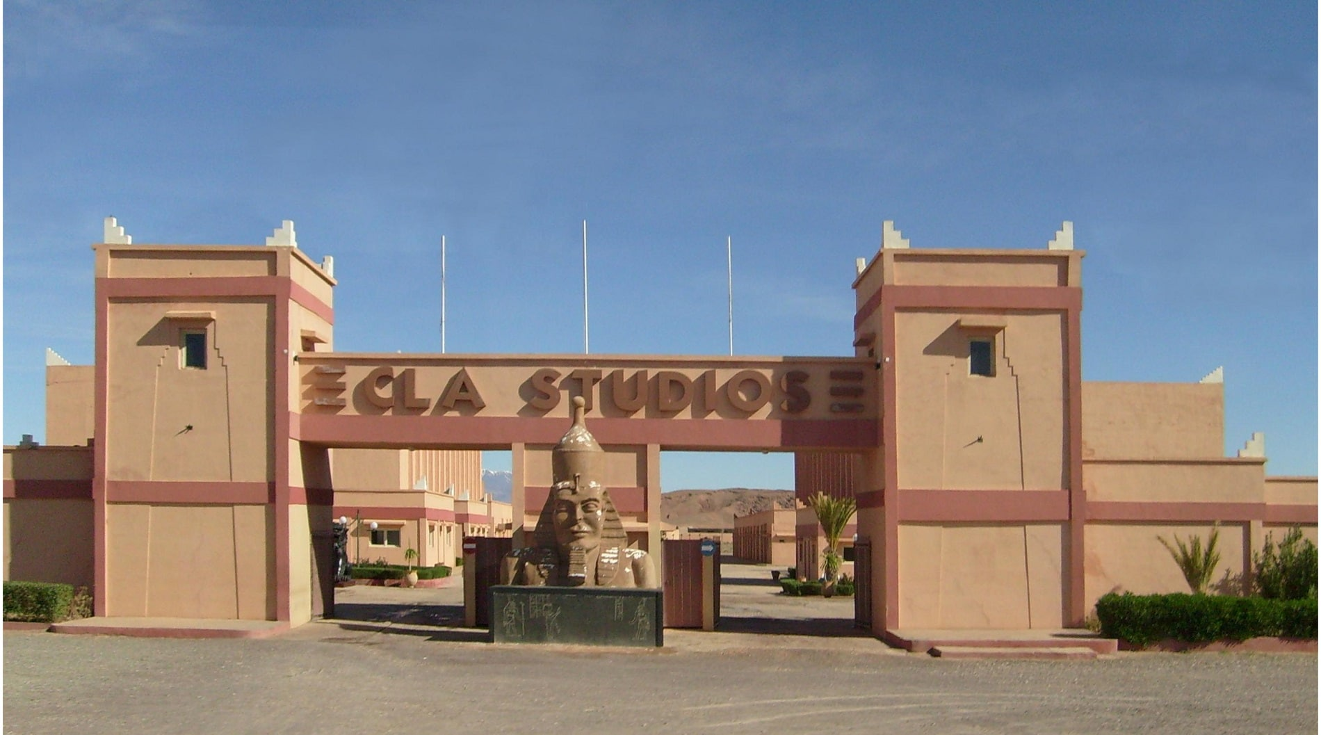 CLA Studios Ouarzazate, unul dintre cele mai mari studiouri de filmare din lume