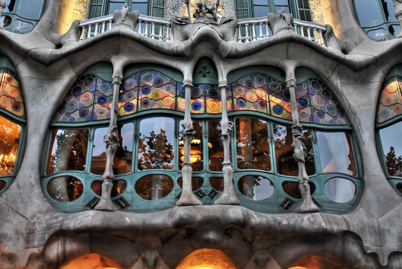 Casa Batllo, detaliu arhitectural