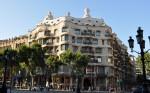 Casa Mila conferă Barcelonei un alt aer