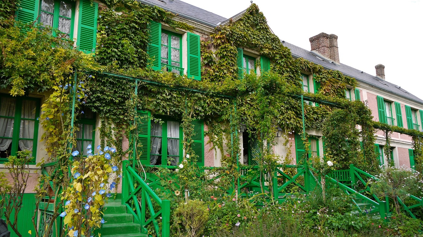 Casa lui Claude Monet din Giverny
