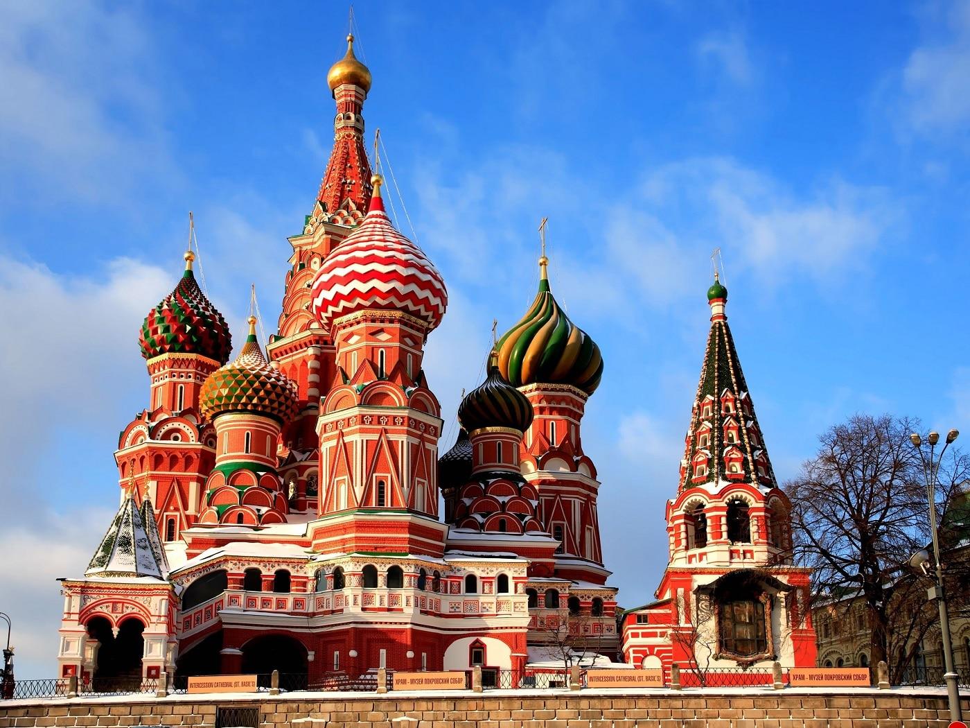 Catedrala Sfântul Vasile, un spectacol al culorii în Moscova