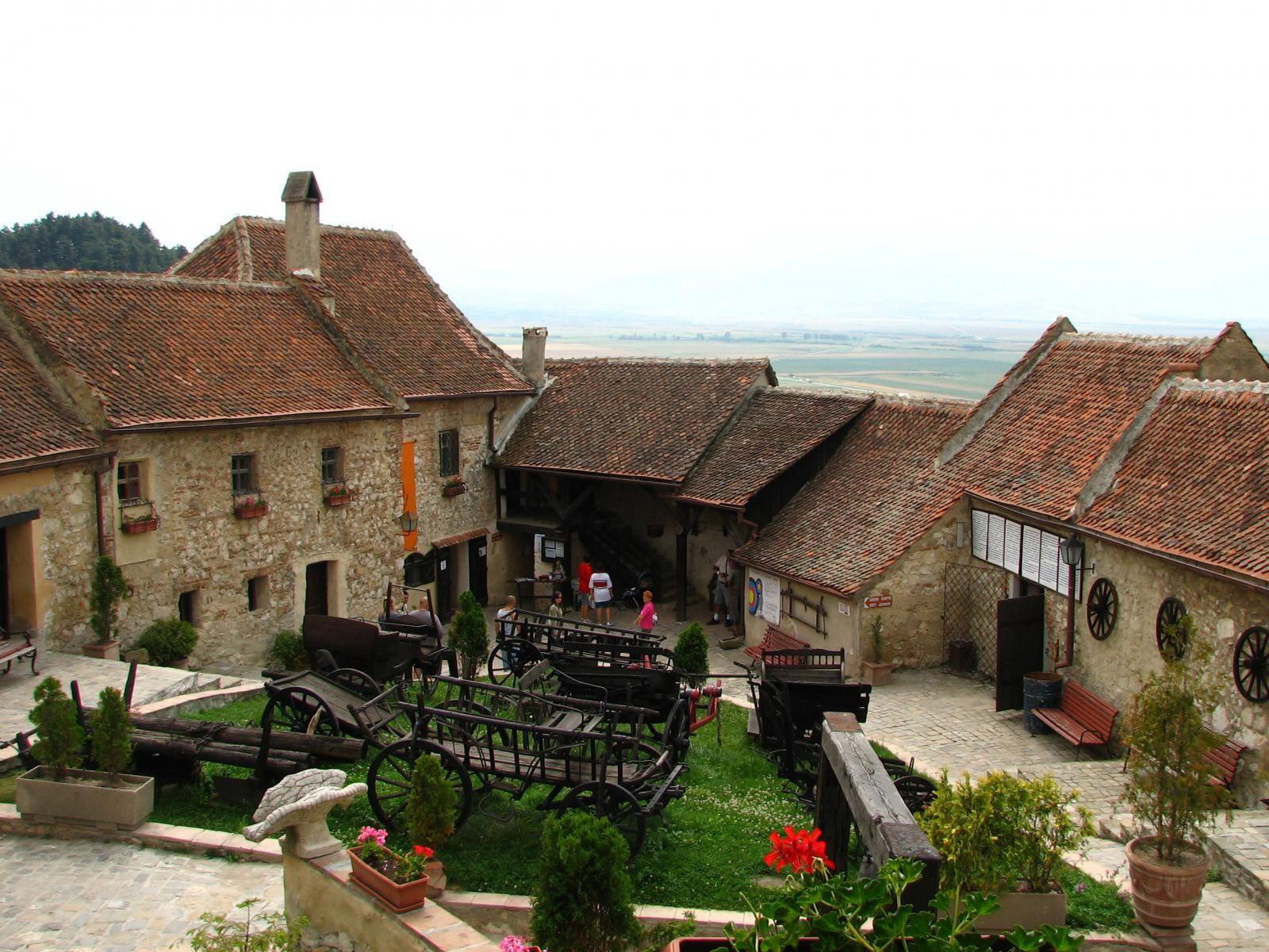 Aerul medieval din Cetatea Râşnov