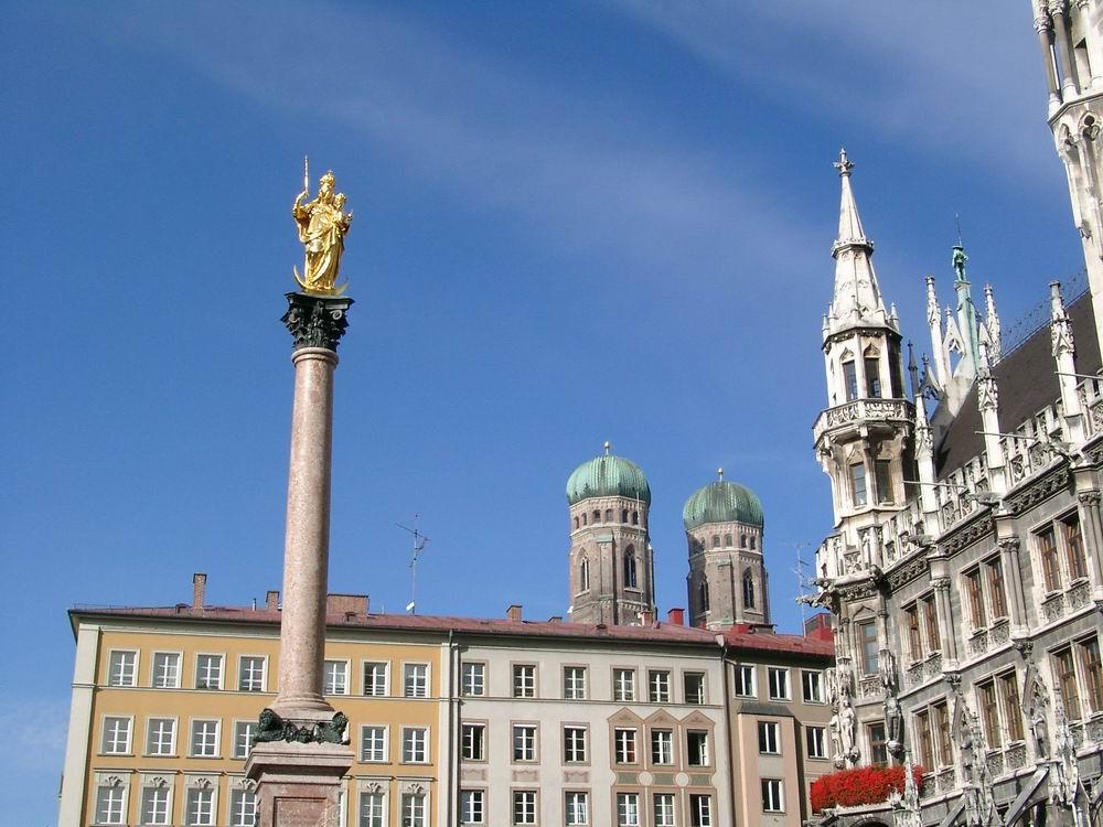 Columna Fecioarei Maria din Marienplatz